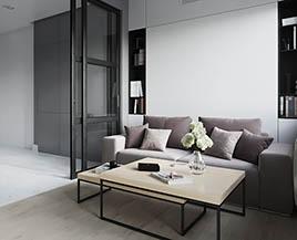 Квартира №13, двухкомнатная, 58,27 м²