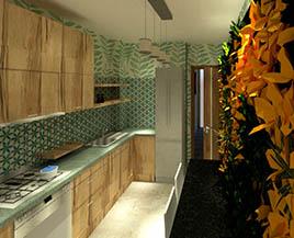 Квартира №6, однокомнатная, 39,64 м²