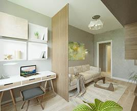 Квартира №3, 48,80 м²