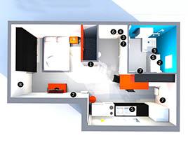 Проект квартиры «эконом-класс»