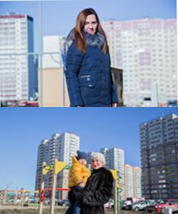 Ирина Коваленко и Александра Соломатина