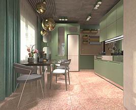 Квартира №5, двухкомнатная, 62,65 м²