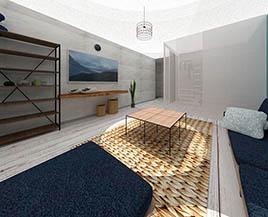 Квартира №12, двухкомнатная, 36,16 м²
